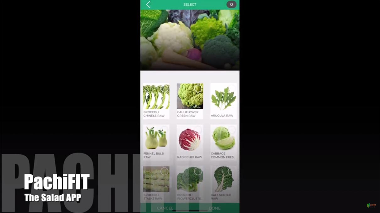 PACHI FIT: The Salad APP by Chef Pachi